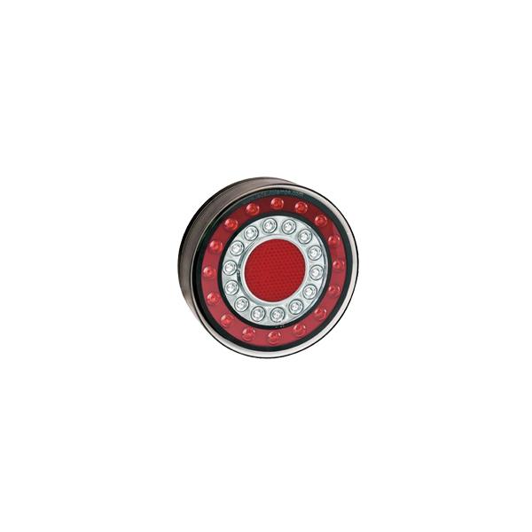 1XCE LED-Mehrkammerleuchte, Stop-/Schlusslicht/Fahrtrichtungsanzeiger/Reflektor