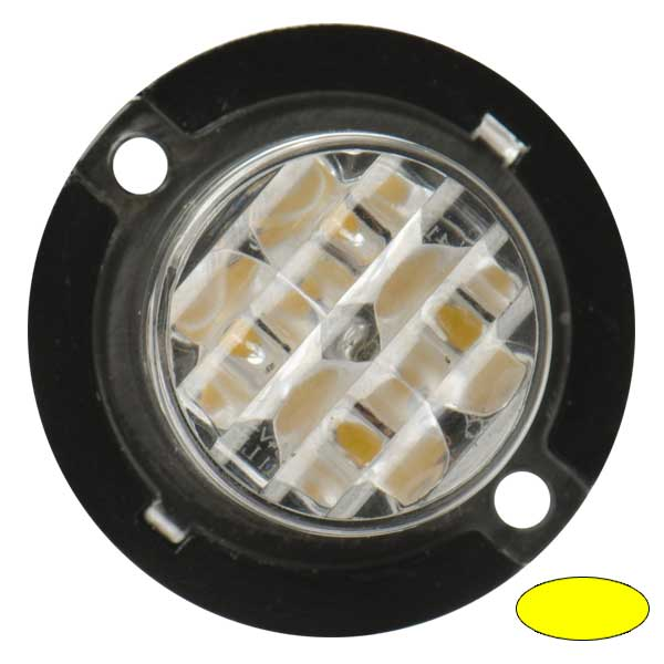 4-1420, 10-30VDC, Warnfarbe gelb