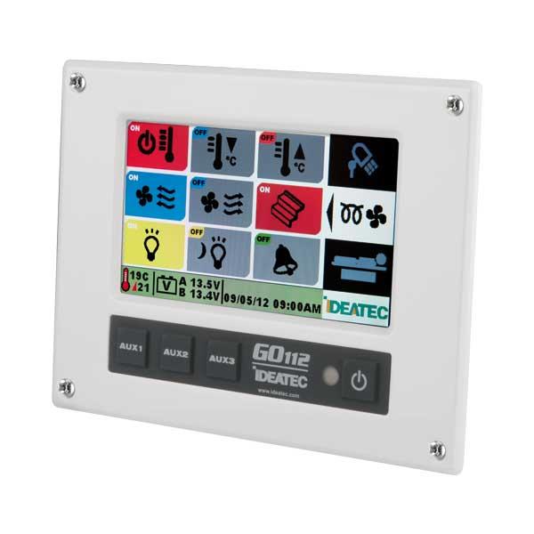 GO112 Bedienkonsole mit 4,5´´ Touchscreen, Wandmontage