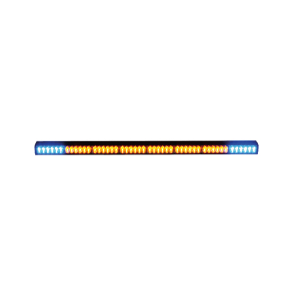 Heckwarnsystem-LED HWS08-WB, L=1009mm, 10-30VDC, 8 LED-Module, ohne Bedienteil