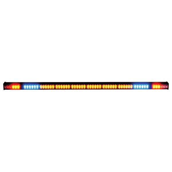 Heckwarnsystem-LED HWS10, L=136cm, 10-30VDC, 10 LED-Module