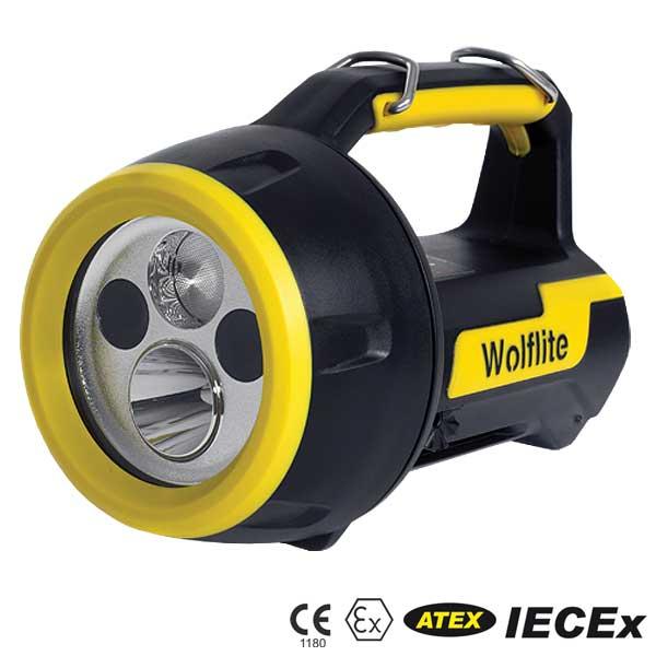 XT-50L ATEX-LED-Handscheinwerfer, intelligentes 10-30VDC-Ladesystem