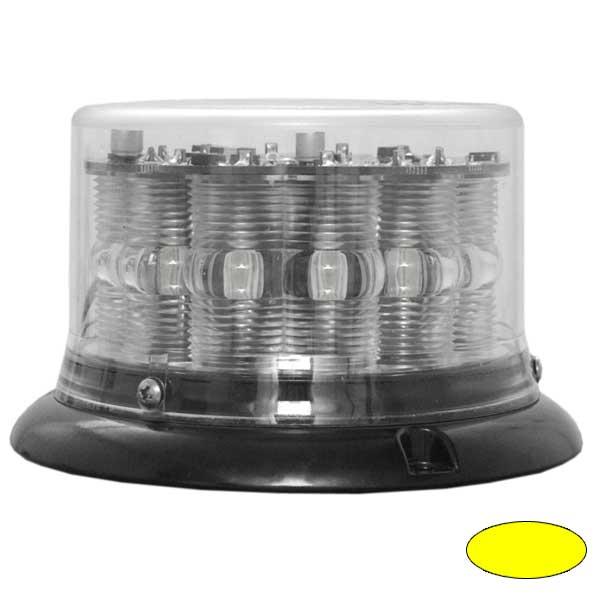 IMPACT LP, 10-30VDC, Warnfarbe gelb, klare Haube, 3-Lochbefestigung