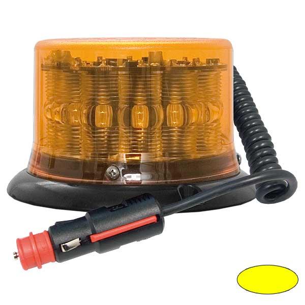 IMPACT LP, 10-30VDC, Warn-u.Haubenfarbe gelb, Magnethalterung