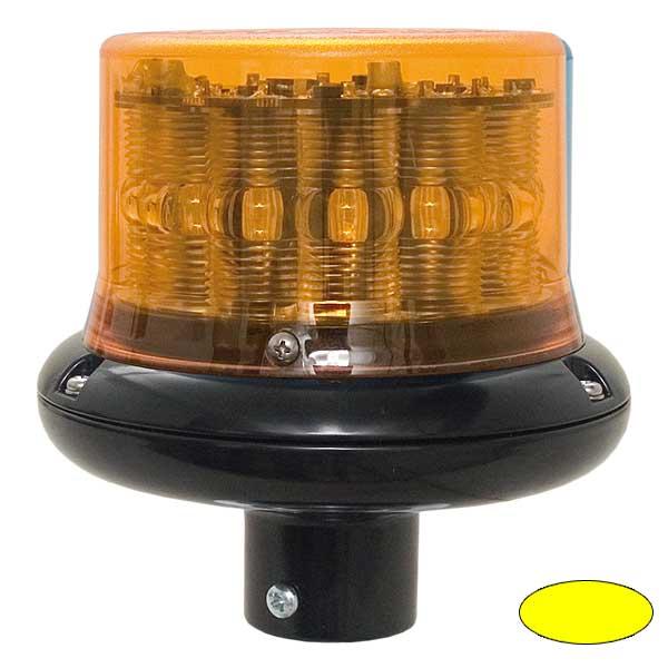 IMPACT LP, 10-30VDC, Warn-u.Haubenfarbe gelb, DIN-A Stecksockel
