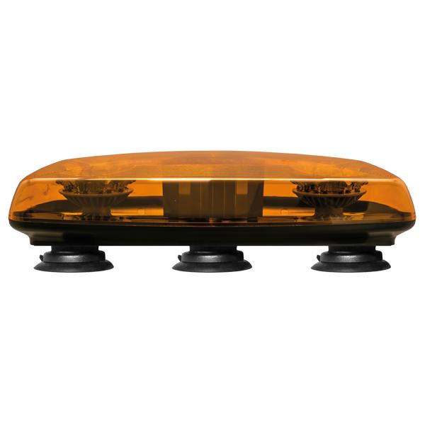 Warnbalken-LED, MultiLED Mini, 10-30V, Warn- u.Haubenfarbe gelb, Magnethalterung
