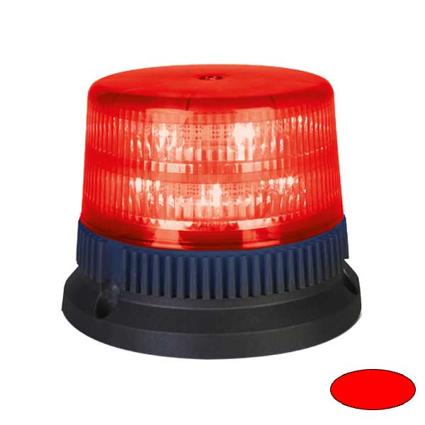 FLEX 6+6 T2, 12VDC, Sonderfarbe rot, 3-Lochbefestigung
