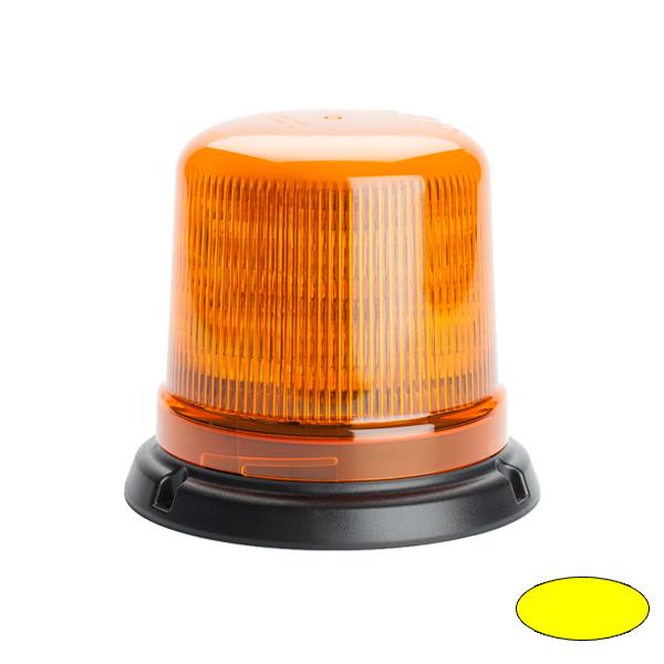 SERIE 515 LED-Kennleuchte, 10-30VDC, Warn-u.Haubenfarbe gelb, 3-Lochbefestigung