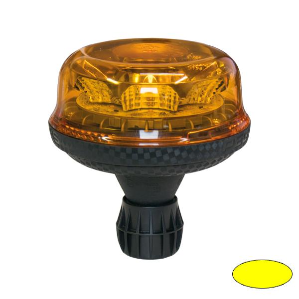 EUROSTAR Modell 21.50, 10-30VDC, Warn-u.Haubenfarbe Gelb, DIN-A Stecksockel