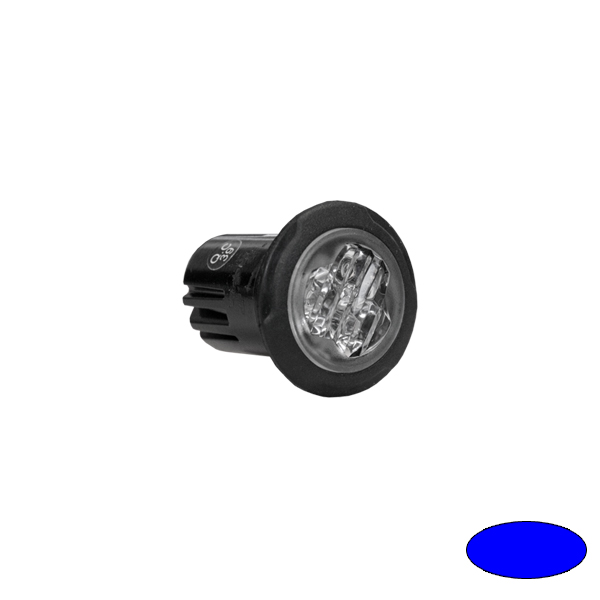 LED-Blitzleuchte BULLS FLASH BL99-EB, 10-30VDC, Warnfarbe blau