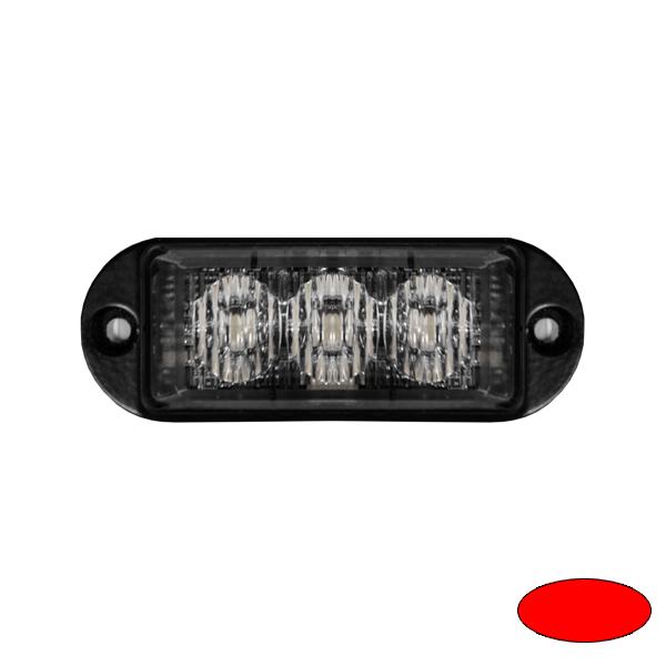 LED-Blitzleuchte ULTRA SLIM MINI-ER, 10-30VDC, Sonderfarbe rot