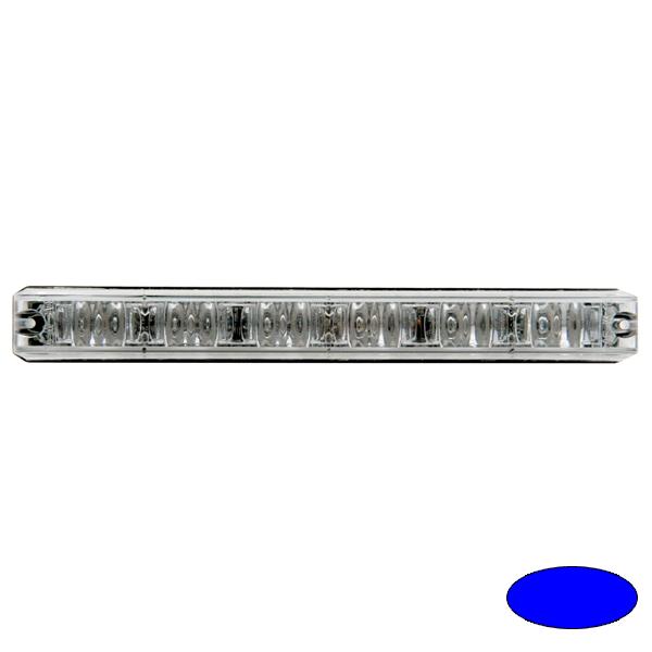 LED-Blitzleuchte XLOW-EB, 10-30VDC, Warnfarbe Blau