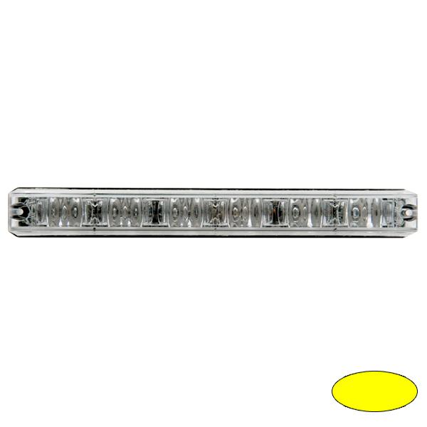 LED-Blitzleuchte XLOW-EA, 10-30VDC, Warnfarbe Gelb