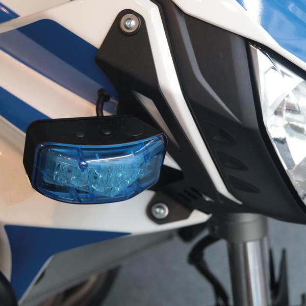 Motorrad-Warnanlage KIT-MOTO Typ FEUERWEHR-AT, Einsatzton Feuerwehr-AT