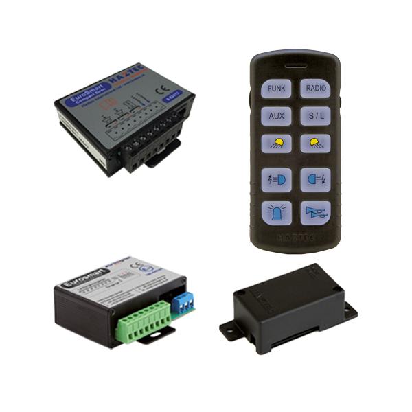 EUROSMART COMPACT Bedien-, Akustik- u. Leistungssystem, 10-30VDC, Version D2, Deutschland
