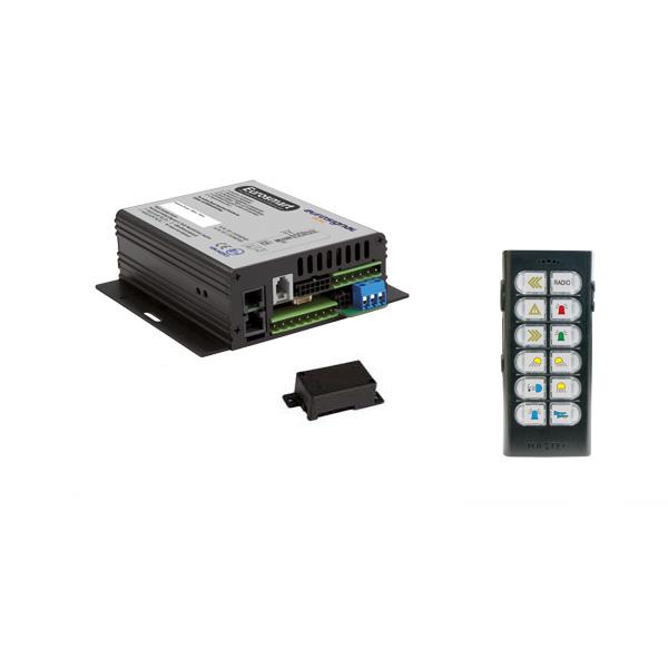 EUROSMART GEN2.2 Bedien-, Akustik- u. Leistungssystem, 24VDC, Version 12B-2, Österreich