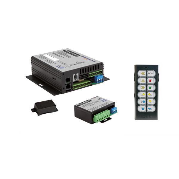 EUROSMART GEN2.2 Bedien-, Akustik- u. Leistungssystem, 24VDC, Version 12B-3, Österreich