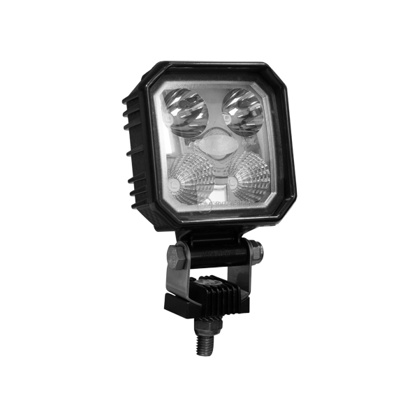LED-Arbeitsscheinwerfer Serie EUROSTAR Modell 29.63, 10-30VDC, Aufbaumontage