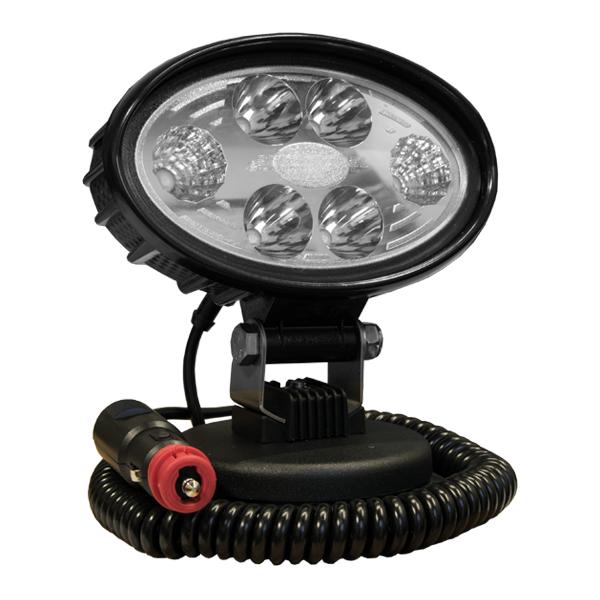 LED-Arbeitsscheinwerfer Serie EUROSTAR Modell 29.64MS, 10-30VDC, Magnethalterung, integrierter Kippschalter