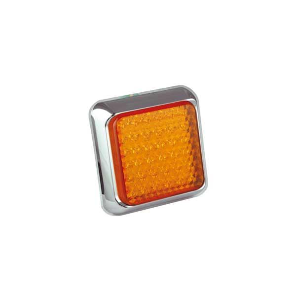 100CAME LED-Fahrtrichtungsanzeiger, 10-30VDC, Montagerahmen chrom