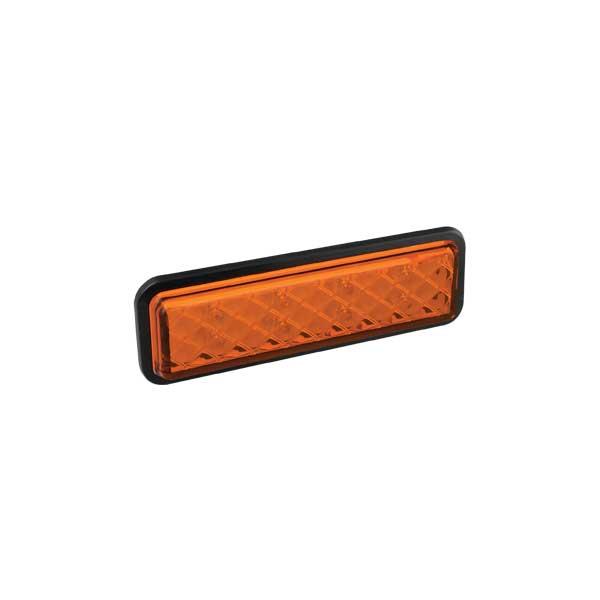 135AMGE LED-Fahrtrichtungsanzeiger, Einbau, Montagerahmen schwarz