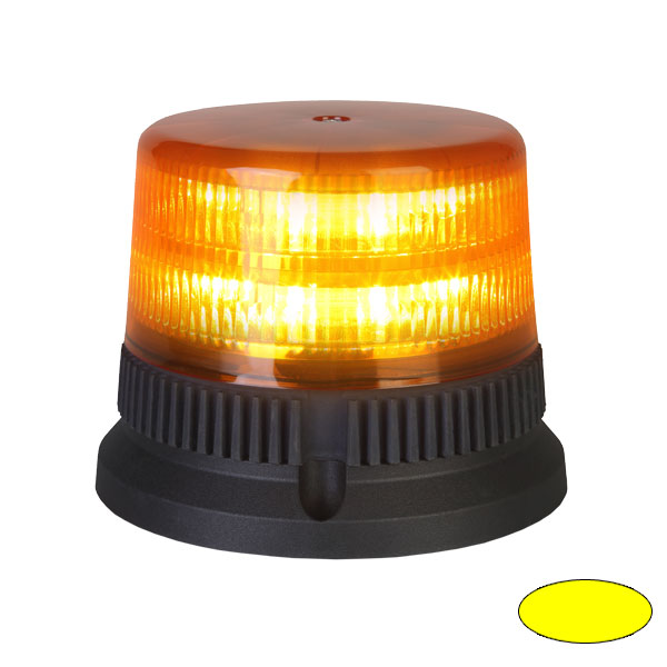 FLEX 9+9 T2, 12VDC, Warnfarbe gelb, 3-Lochbefestigung