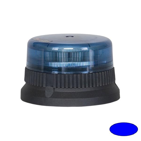 FLEXILED 9 T1, 12VDC, Warnfarbe blau, 3-Lochbefestigung