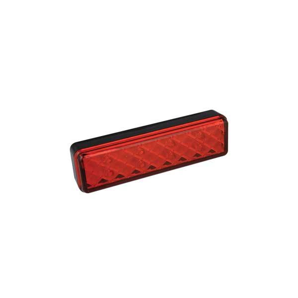 135RME LED-Kombileuchte, Stop-/Schlusslicht, Aufbau, Montagerahmen schwarz