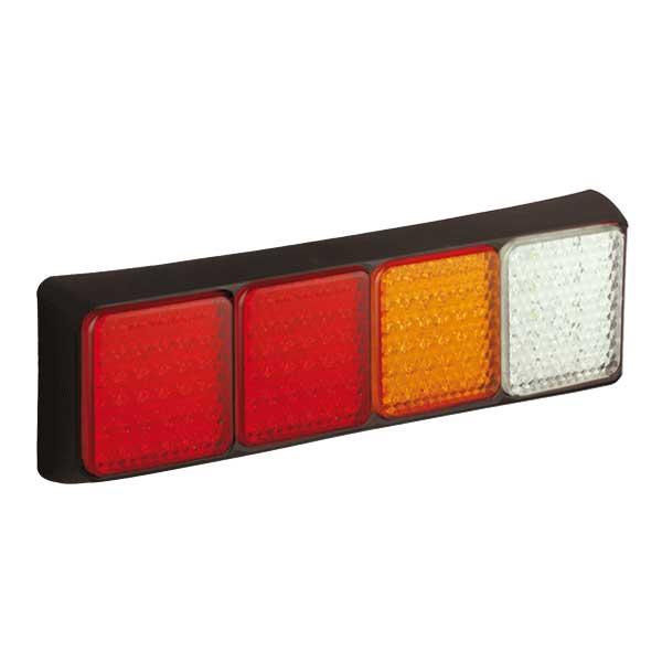80BRRAWME LED-Leuchtenkombination, 2x Stop/Schlusslicht/Fahrtrichtungsanzeiger/Retourscheinwerfer
