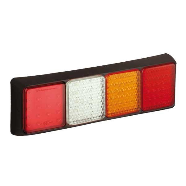 80BFWARME LED-Leuchtenkombination, Stop/Schlusslicht/Fahrtrichtungsanz./Retourscheinw./Nebelschlussl.