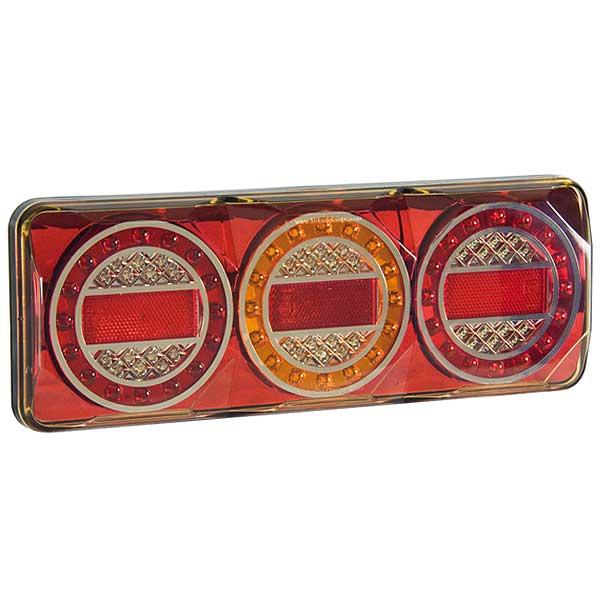 3XRF LED-Mehrkammerleuchte, Stop-/Schlusslicht/Fahrtrichtungsanzeiger/Nebelschlussleuchte/Reflektor