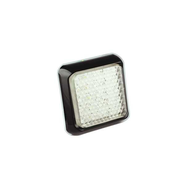 125WME LED-Retourscheinwerfer, Montagerahmen schwarz
