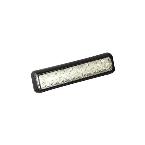 200BWME LED-Retourscheinwerfer, Montagerahmen schwarz