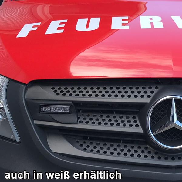 Montagerahmenset für Kühlergrill Mercedes Vito Baureihe 447 (BJ 10/2014-), Farbe: weiß