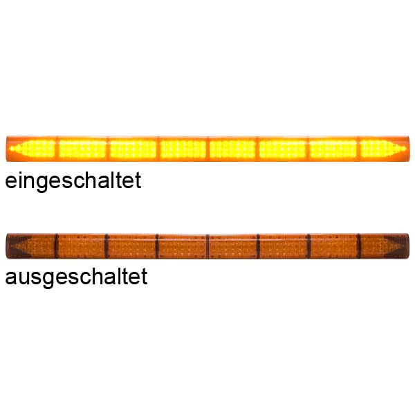 LED-TRAFFICMASTER, 10-30VDC, Warnfarbe gelb, 8 LED-Module, inkl. Deluxe-Steuergerät