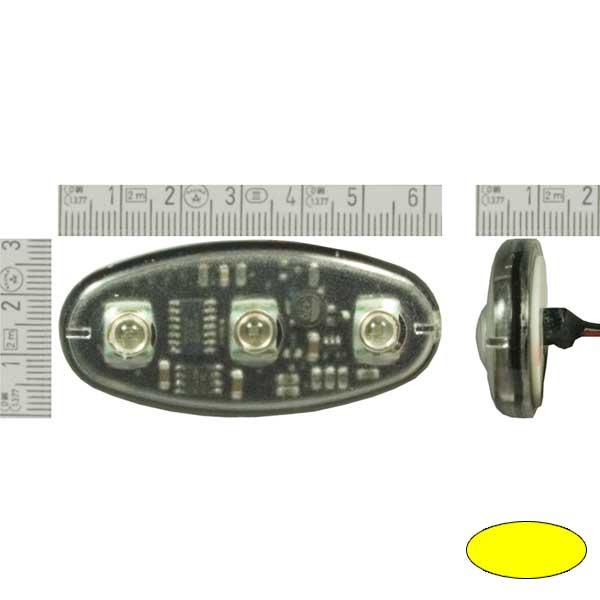 TRILOGY, 10-30VDC, Warnfarbe gelb