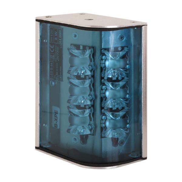 B44-02, 12VDC, Warnfarbe blau