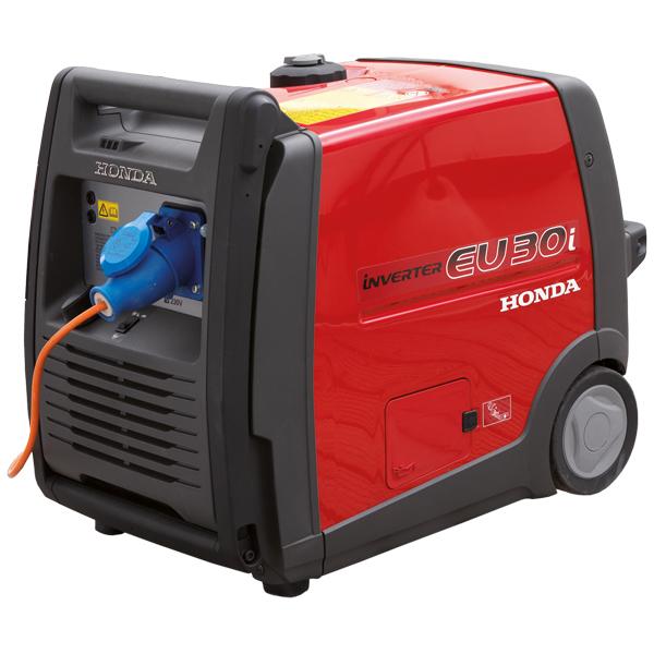 HONDA EU 30i Stromerzeuger, Invertertechnologie, 230VAC, 3000VA, 4-Takt Benzinmotor