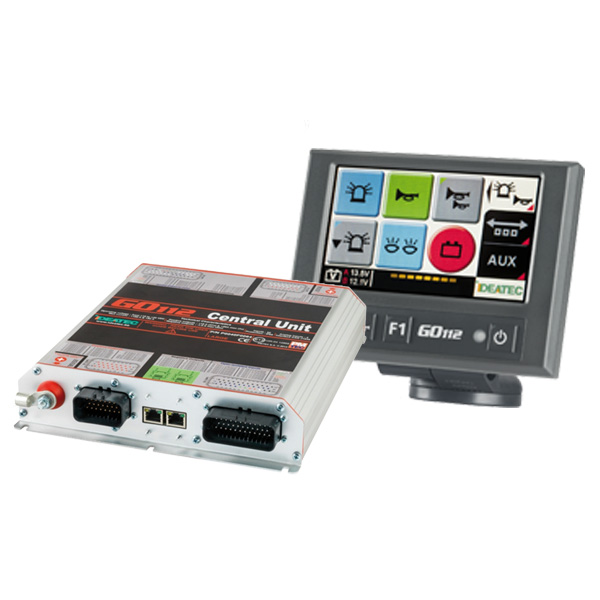 "GO112 Bedien- u. Leistungssystem Set ""L"", 10-30VDC"