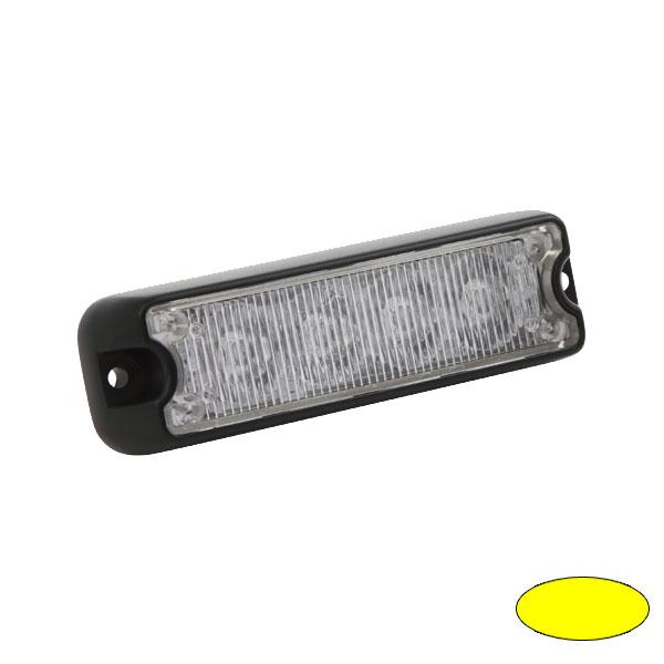 IMPACT4, 10-30VDC, Warnfarbe gelb