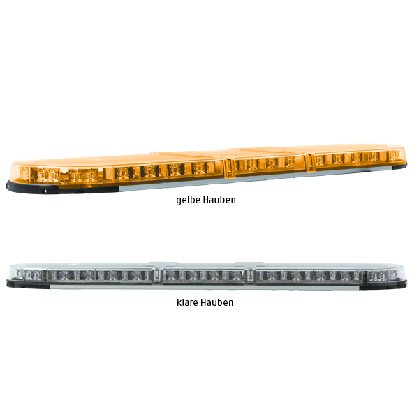 XPERT-LP 4PRO-2PROM-2PROM, L=123cm, 10-30VDC, Warn-u.Haubenfarbe gelb