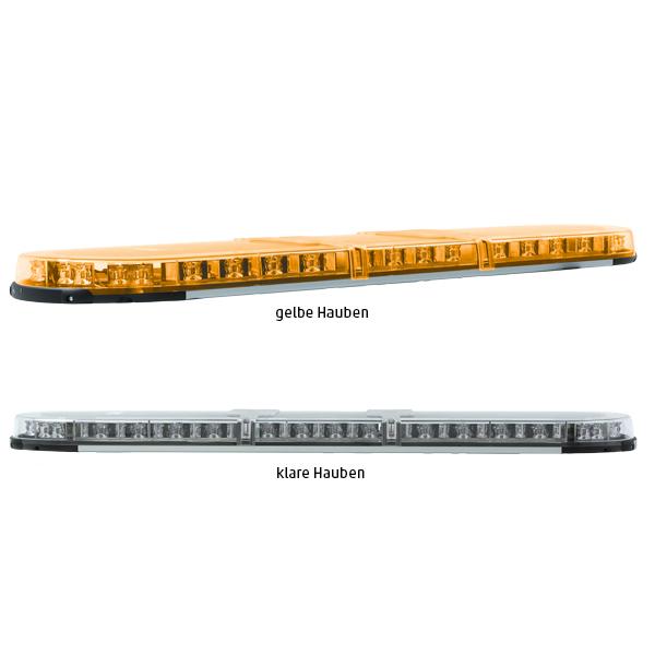 XPERT-LP 4PRO-2PROM-2PROM, L=153cm, 10-30VDC, Warn-u.Haubenfarbe gelb