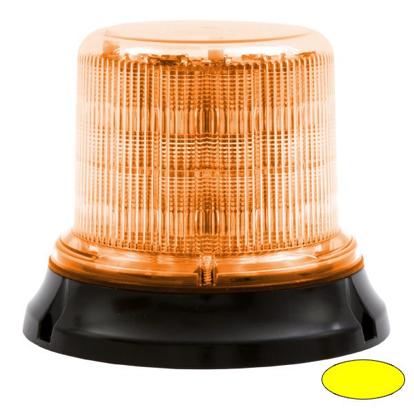IMPACT DR, 10-30VDC, Warn-u.Haubenfarbe gelb, 12+12 LEDs, 3-Lochbefestigung