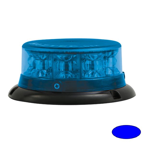 IMPACT ELP, 10-30VDC, Warn-u.Haubenfarbe blau, 3-Lochbefestigung