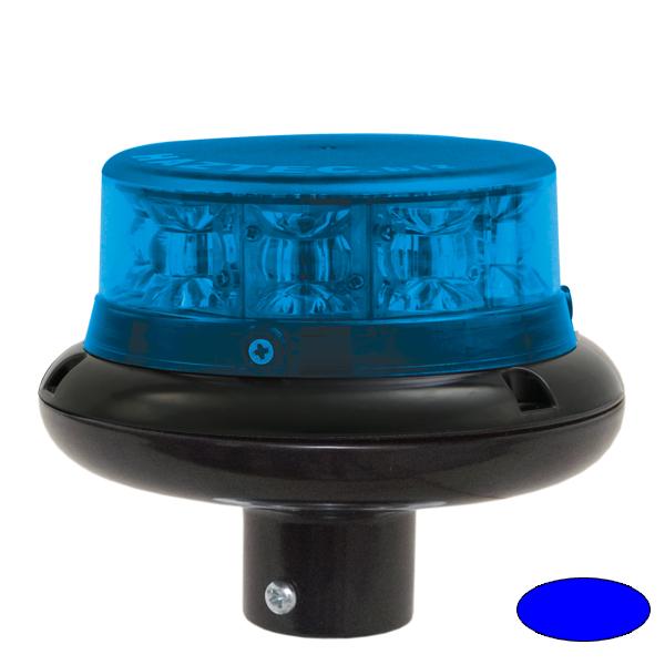 IMPACT ELP, 10-30VDC, Warn-u.Haubenfarbe blau, DIN-A Stecksockel