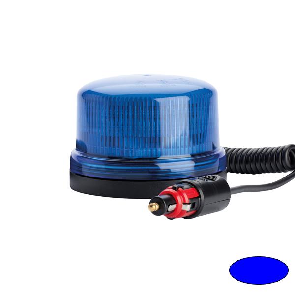 SERIE 510 LED-Kennleuchte, 10-30VDC, Warn-u.Haubenfarbe blau, Magnethalterung
