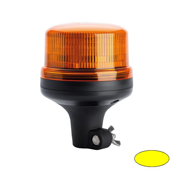 SERIE 510 LED-Kennleuchte, 10-30VDC, Warn-u.Haubenfarbe gelb, DIN-A Stecksockel