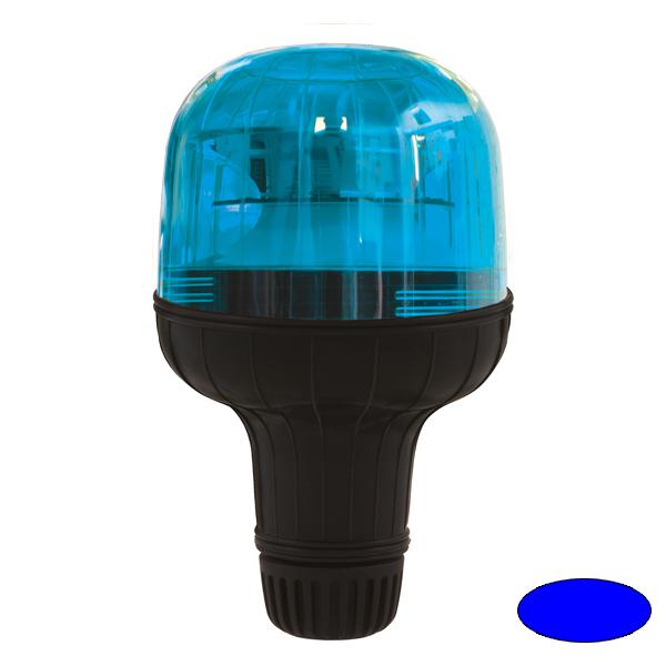 EUROROT-LED FLX, 10-30VDC, Warn-u.Haubenfarbe blau, DIN-A Stecksockel