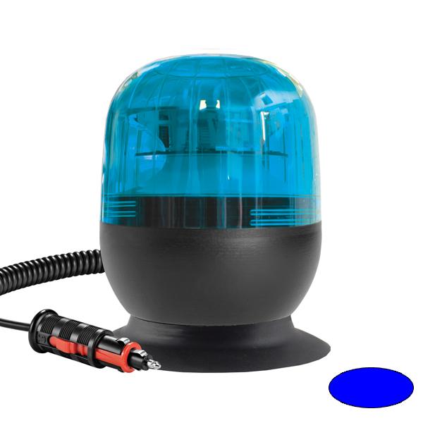 EUROROT MV, 10-30VDC, Warn-u.Haubenfarbe blau, Magnethalterung