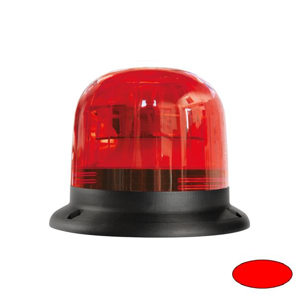 EUROROT-LED B, 10-30VDC, Sonder-u.Haubenfarbe rot, 3-Lochbefestigung